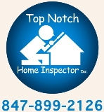 Top Notch Home Inspector serving the Chicago land area 847-899-2126